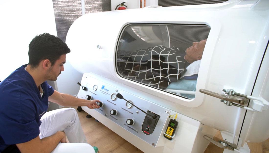 cámara hiperbárica tratamiento artrosis