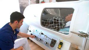 cámara hiperbárica tratamiento