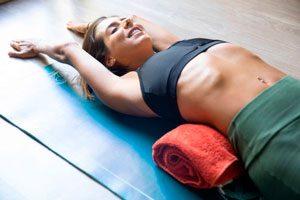 Postura de descarg, dolor lumbar
