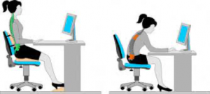 corregir postura trabajo